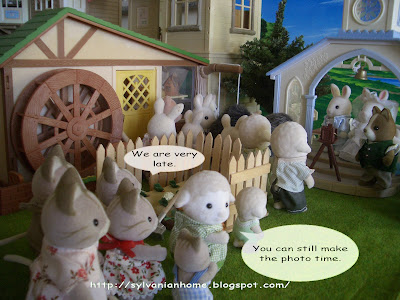 Sylvanian families church