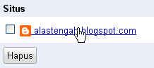 Cara atasi atau mengatasi broken link blogspot di ping google Webmaster Tool