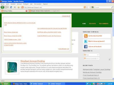 Cara pasang atau memasang iklan agar bisa tampil di depan halaman layar blog atau website