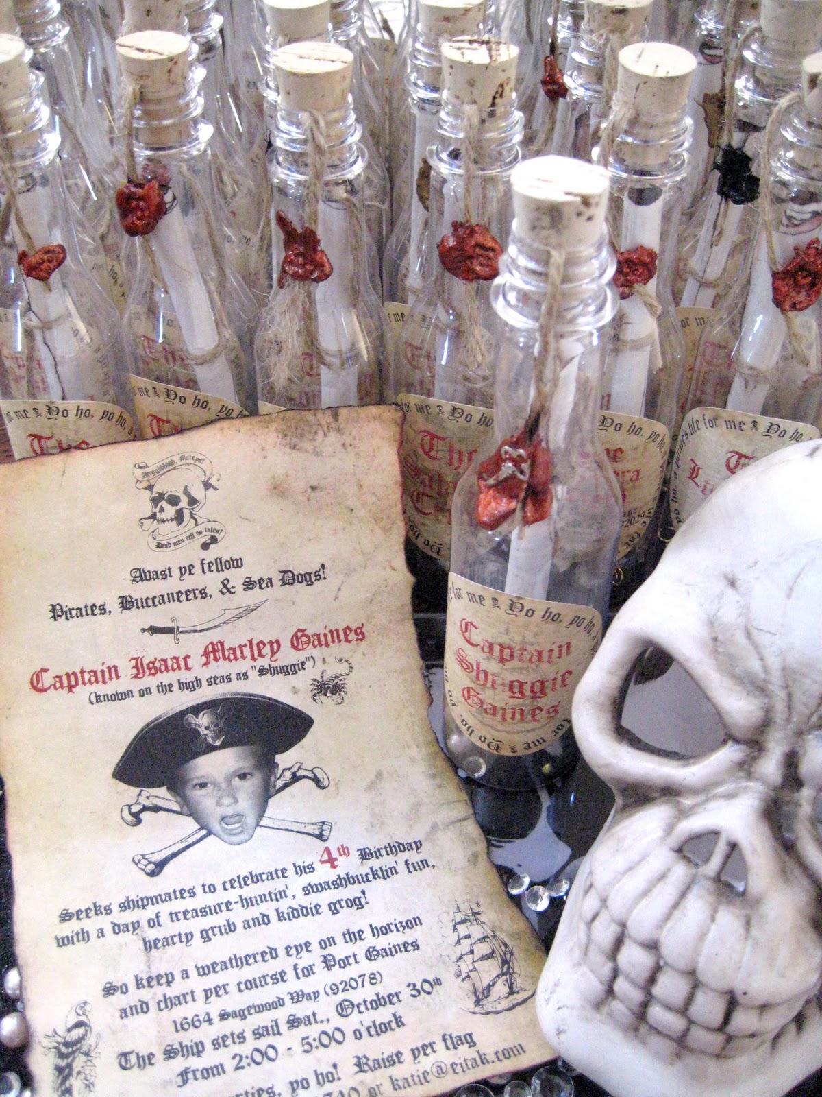 Ahoy, Pirates! | Love Paper Paint