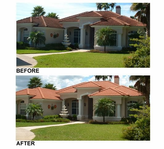 Tile Roof Cleaning Tampa Florida Apple Roof Cleaning