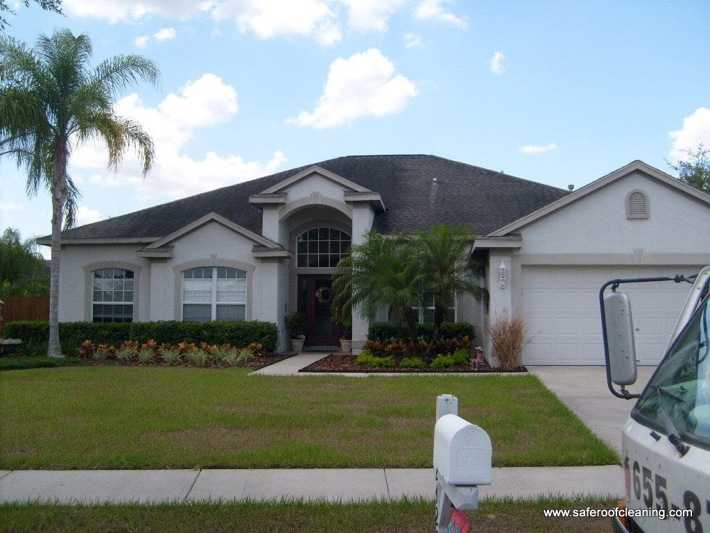 Here Are Just A Few Tampa Roof Cleaning Pictures Of Hunters Green Homes We  Have Done.