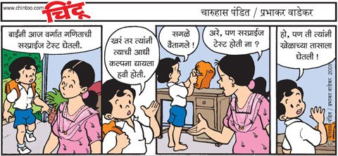 Chintoo comic strip for January 19, 2009