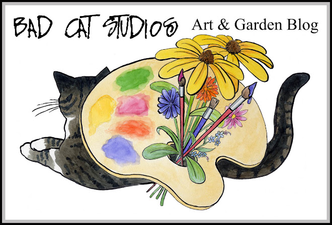Bad Cat Studios Art and Garden Blog