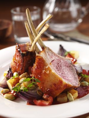 Cafe World CookBook: Rack of Lamb