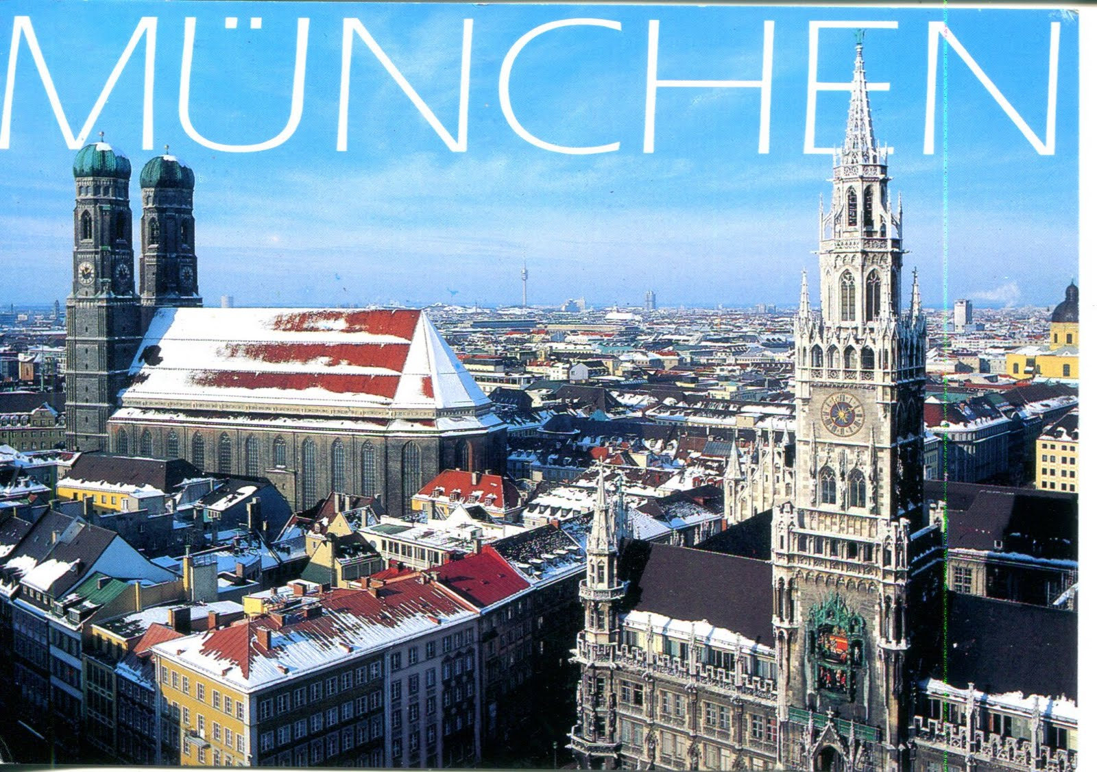 Munich Germany  city pictures gallery : collect ROC: Germany Postcard: Munich