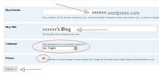 wordpress tutor, panduan ngeblog, trik wordpress, cara settin wordpress