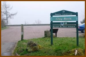 Photograph of Clay Bank car park.