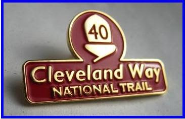Cleveland Way - Commemorative Badge