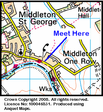 Map of Middleton One Row Area