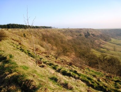 Photo of Hole of Horcum area.