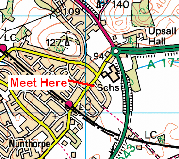 Map of the Morton Carr Lane area
