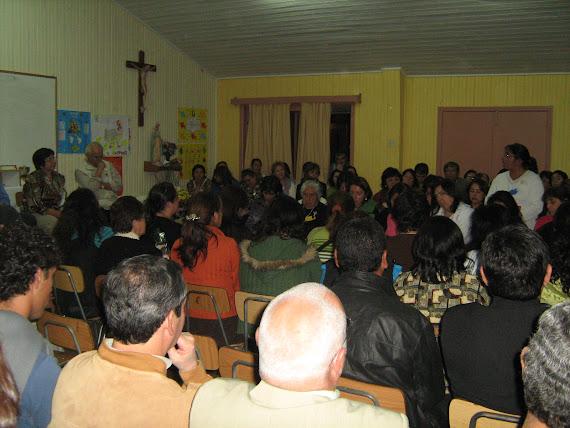 Clausura Crsillo de mujeres, en Betania, Laja.