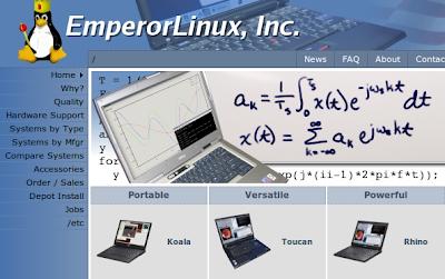 emperor linux