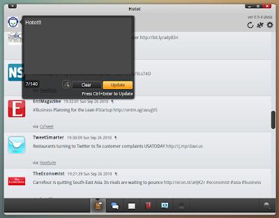 hotot ubuntu