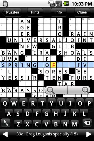 Daily Newspaper Crossword Puzzles Ad For Android