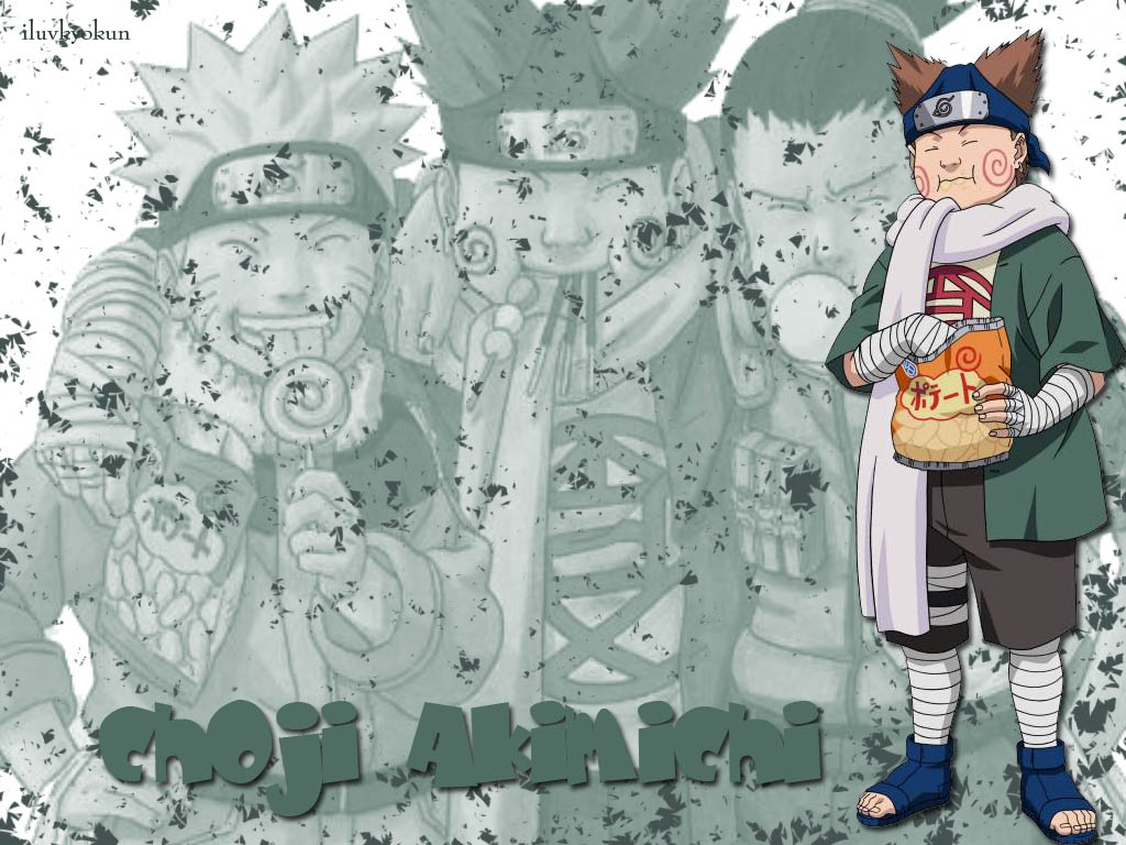 Naruto: Choji - Wallpaper Gallery
