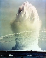 UMBRELLA: Test:Umbrella; Date:June 8 1958; Operation:Hardtack I; Site:Enewetak Lagoon; Detonation:Underwater, depth - 150ft; Yield:8kt; Type:Fission