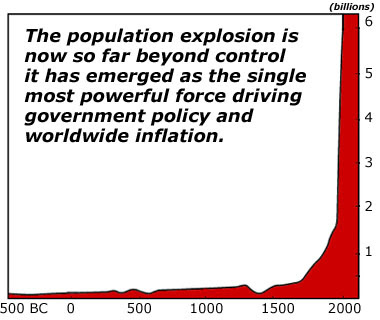 Population Explosion: The Most Powerful Force on Earth