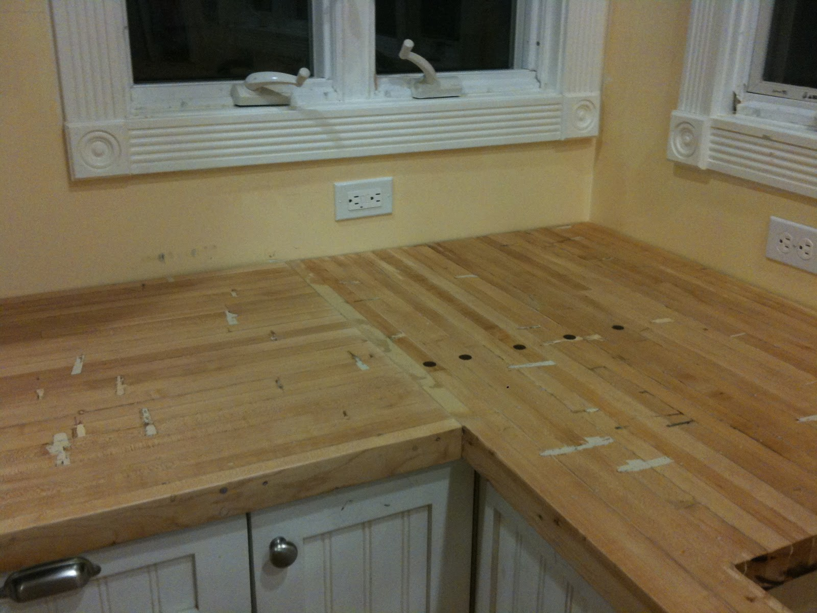 Used Countertops elgin eco house: countertops finished!