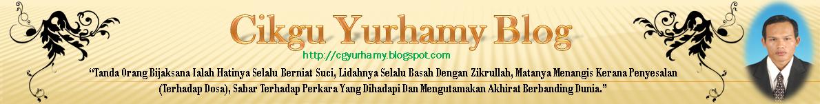CIKGU YURHAMY (TAZKHIRAH)