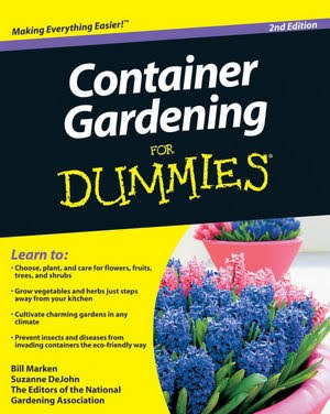 Container Gardening For Dummies Book Review