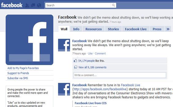 Tampilan Facebook Dari Setiap Masa