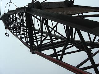 3 720559 DRAGLINA seocn hand de vanzare dragline pentru incarcare dragina sh utilaje incarcat cupa greifer draglina Weser COTTAGE W 120 40t 157CP