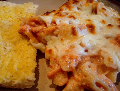 Mama Loves Food!: Italian Pasta Bake (Almost Baked Ziti, But Not Quite ...