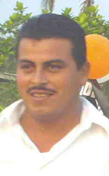 Candidato de la Alianza, PRD, PT y Convergencia a la Presidencia municipal de Nanchital