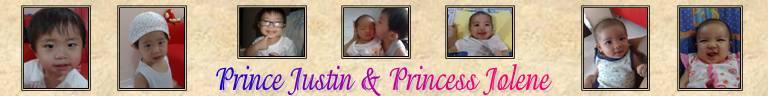 Prince Justin & Princess Jolene