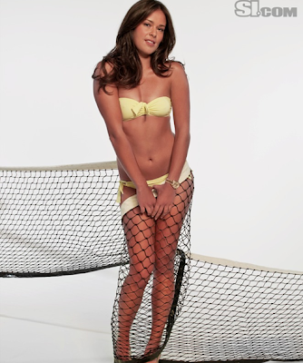 Tennis star Ana Ivanovic known as Sports Illustrated Swimsuit Model