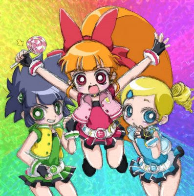 Famous  Trios |  Powerpuff Girls Z