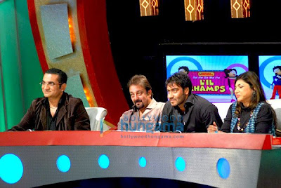 Abhijeet, Sanjay Dutt, Ajay Devgan, Alka Yagnik
