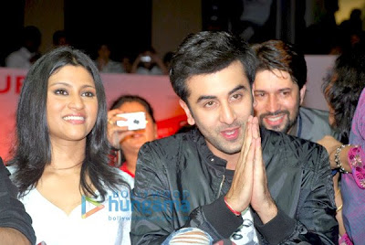 Ranbir and Konkana  photo