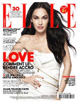 Wallpaper world megan fox photoshoot for elle france for Elle magazine this month