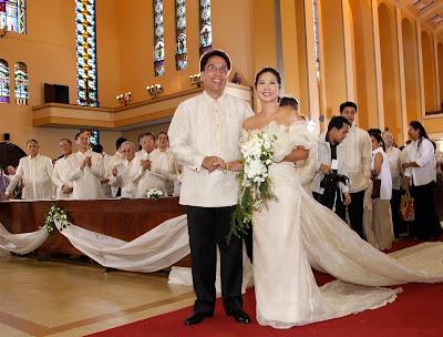Mar Roxas and Korina Sanchez Wedding Picture