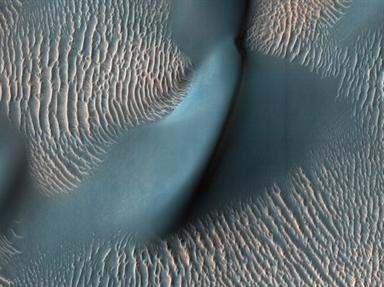 there are big holls on the mars