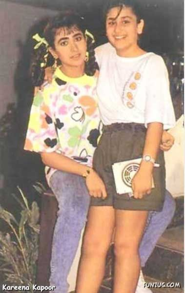 Childhood photographs Of Bollywood Stars - Online picture gallery