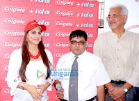 Perizaad Kolah in Baroda at the Colgate Event