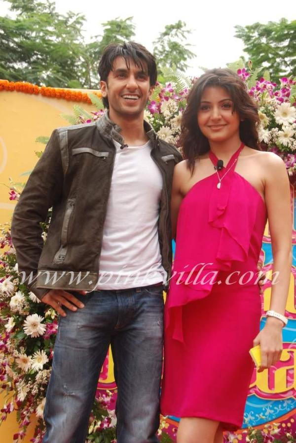 Anushka Sharma at 'Band Baaja Baraat' film photo shoot