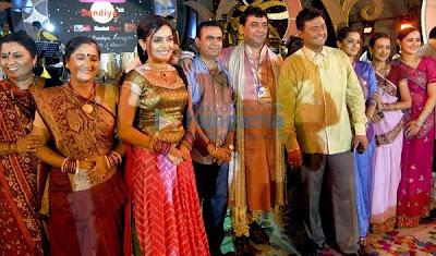 Papad Pol Cast Visit Sankalp Dandiya