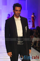 ARJUN Rampal and Abhay Deol walking on the ramp
