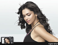 Deepika padukone cybershot photoshoot in black dress