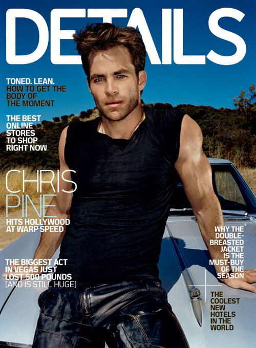 Chris Pine Details Magazine November 2010