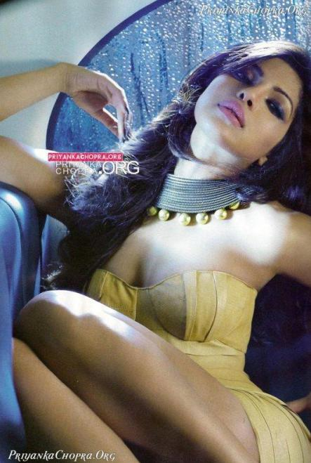 Priyanka Chopra Hot Scene GQ Magazine October 2010