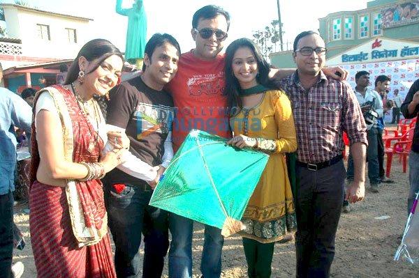 Sab tv star celebration makar sankranti