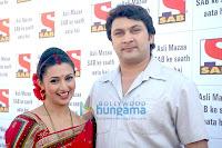 SAB, TV, star, celebration, Makar Sankranti, red hot saree,