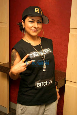 Hard Kaur promotes 'Patiala House'