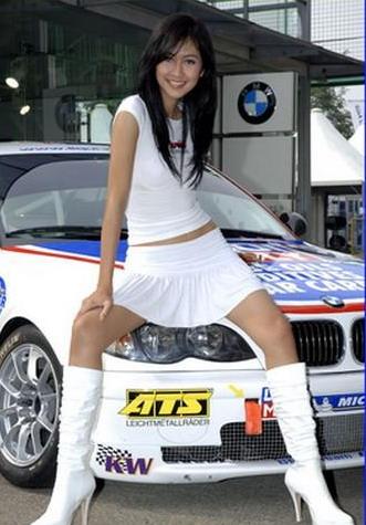 Cantik on Gambar Foto Cewek Spg Cantik Mobil Bmw Jpg